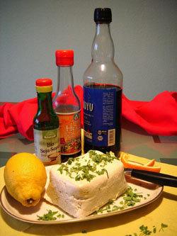 Постный сыр типа феты