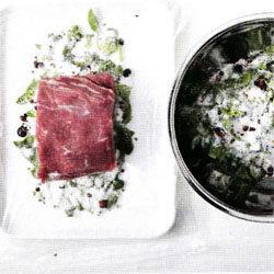Кулинарный мастер-класс Вяленое мясо рецепт 1