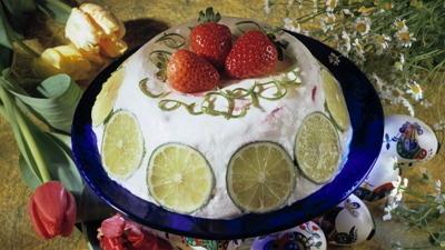 Пасхальные рецепты. Творожный десерт с желатином