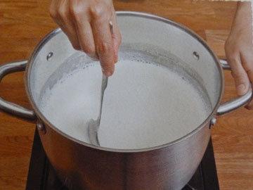 Рецепт домашнего сыра. Шаг 3
