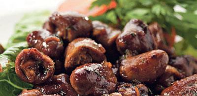Рецепт приготовления куриных сердечек