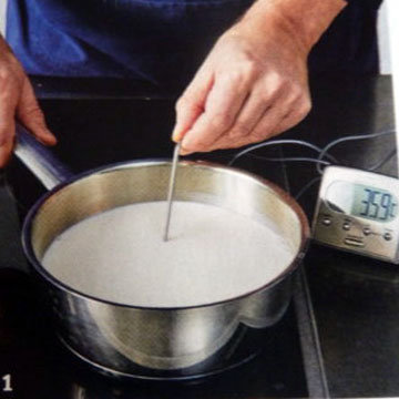 Кулинарный мастер-класс Домашний йогурт 1