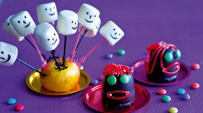 Готовим детям - рецепты на Хеллоуин