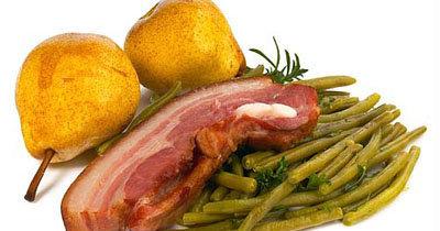 Картофельный суп рецепт Груши-Фасоль-Шпиг