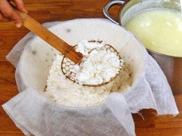 Кулинарный мастер класс Сыр домашний рецепт с пивом 12