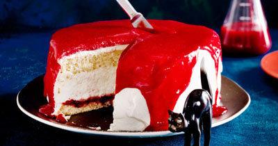 Рецепты на Хэллоуин. Убийственный торт