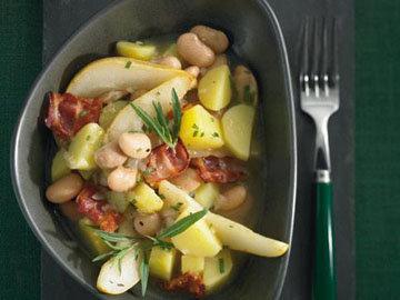 1. Картофельный суп рецепт с белой фасолью