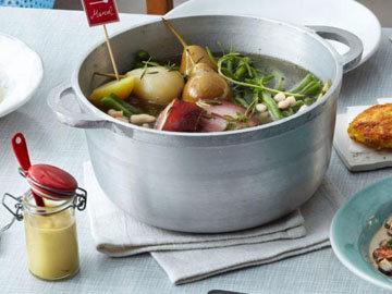 4. Картофельный суп рецепт с 2 видами фасоли