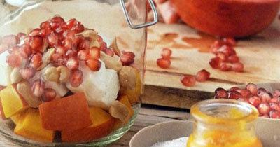 Салат из тыквы - рецепты в банке
