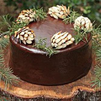 Шишки для украшения тортов