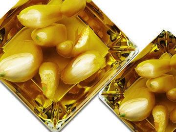 Маринованный чеснок с оливковым маслом
