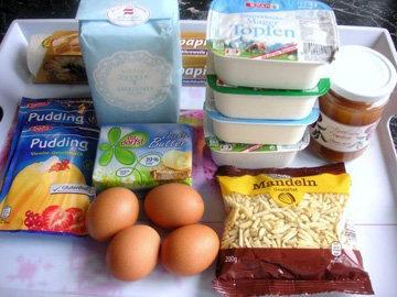 Приготовить все продукты