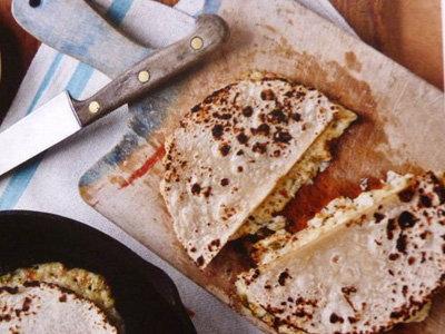 Рецепт Лепешки с домашним сыром