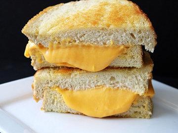 Замурованные яйца - сэндвич