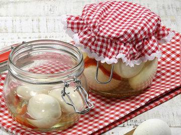 Соленые яйца