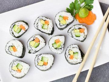 полезные и очень красивые суши