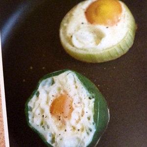 Глазунья с овощами 1