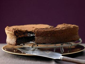 Кулич шоколадный 3
