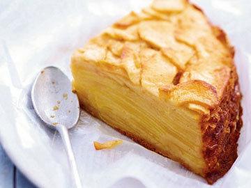Пирог без муки рецепт Яблочно-ванильный пирог