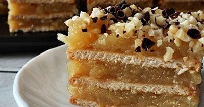 Пирожное из печенья. Крем для пирожных