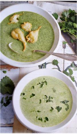 Суп зеленый