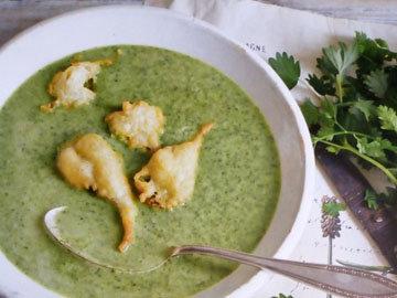 Суп с травами