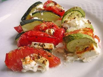 Запеканка из цуккини, помидоров и фета 4