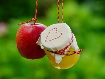 Яблочное с карамелью 2