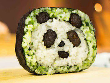 Кулинарный Мастер класс Суши Панда