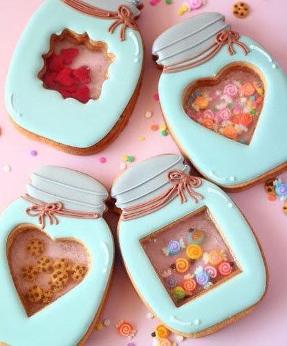 печенье с окошками