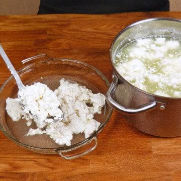 Кулинарный мастер класс Как сделать сыр филата 8