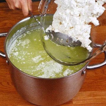 Кулинарный мастер класс Как сделать сыр филата 9