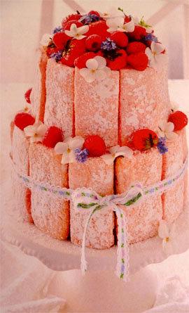 Шарлотка - праздничный большой торт