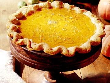 Треснувший карамельный тыквенный пирог