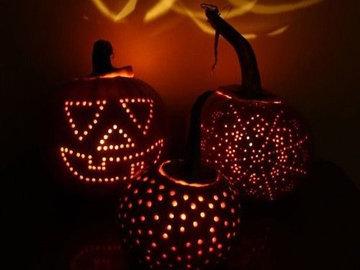 Тыква на Хэллоуин 3