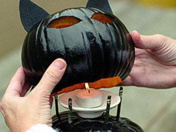 Тыква на Хэллоуин 5