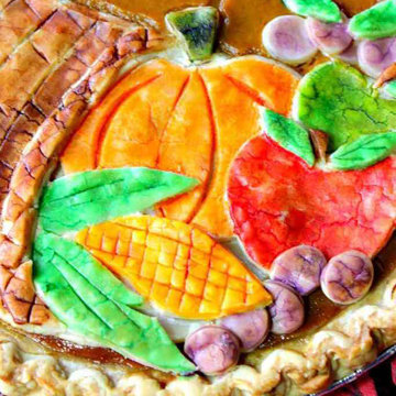 Тыквенный пирог Осенний