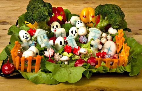кладбище овощей