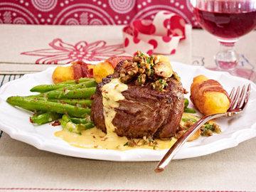Говяжье филе с соусом Café de Paris (2)