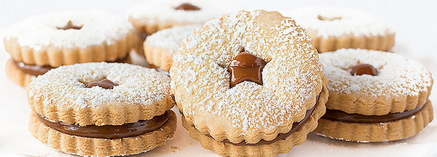 Slider печенье Alfajores