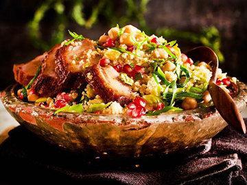 1. Зимний салат с утиной грудкой Мне очень он нравится