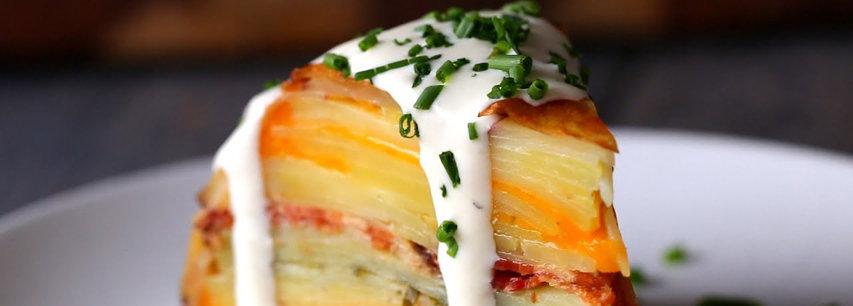 Slider Картофельная запеканка с сыром
