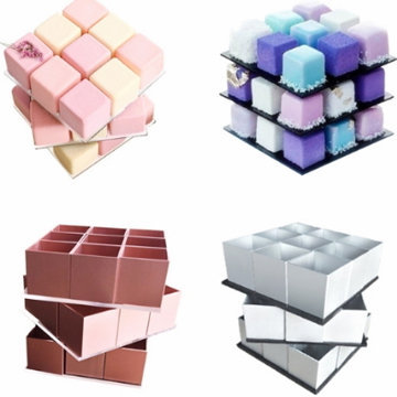 Какие формочки используются для приготовления торта Кубик Рубика