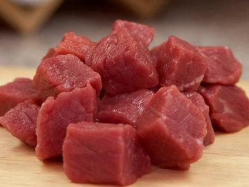 Омлет с мясом паровой