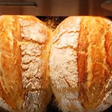 способ выпечки хлеба в нагретых формах