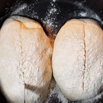 способ выпечки хлеба - в предварительно нагретых формах