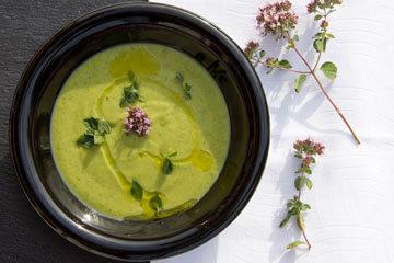 Зеленый энергетический суп