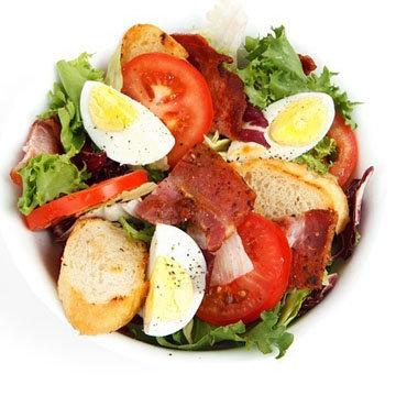 Яичный салат с экзотической ноткой