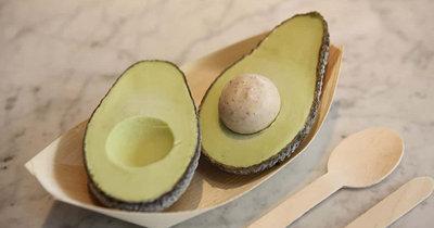 Мороженое дома - из авокадо