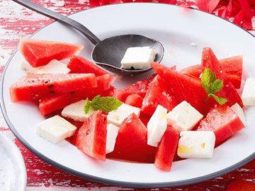 Закускаперекус. Арбузный салат по-гречески